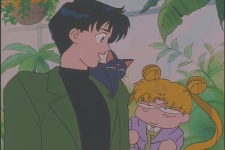 We don't get enough Usagi and Mamoru relationship stuff in any season of Sailor Moon, so moments like these are precious
