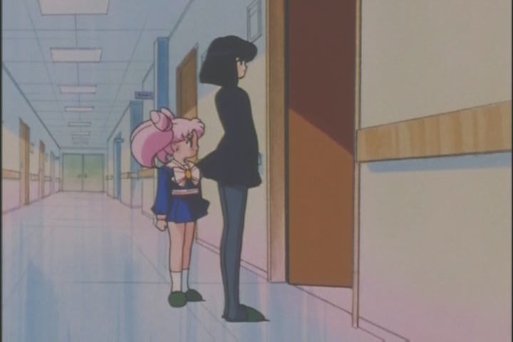 Jesus Usagi, at least offer to walk her home too. Chibi-Usa was no help the last time she passed out