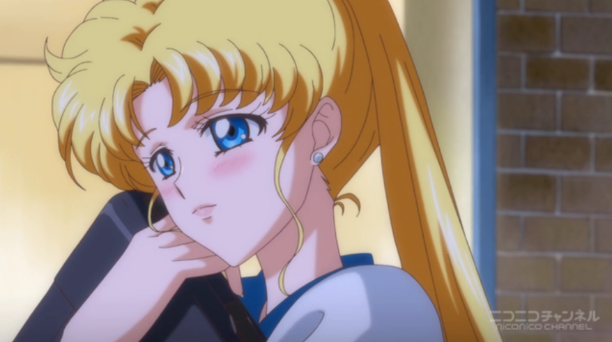 Sailor Moon Crystal - Usagi in love