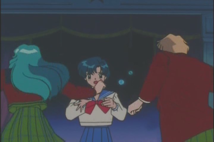 """Fucking leg it, Michiru! She's gonna put us in detention!"""