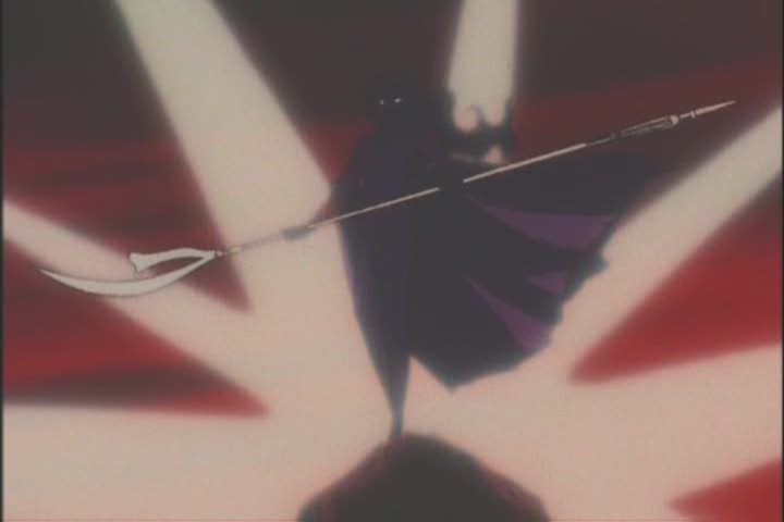Sailor Saturn in Rei's premonition