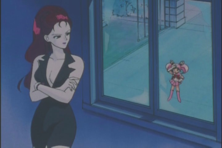 Were she this proactive and creepy in the rest of the series, she may have been the greatest Sailor Moon villain ever