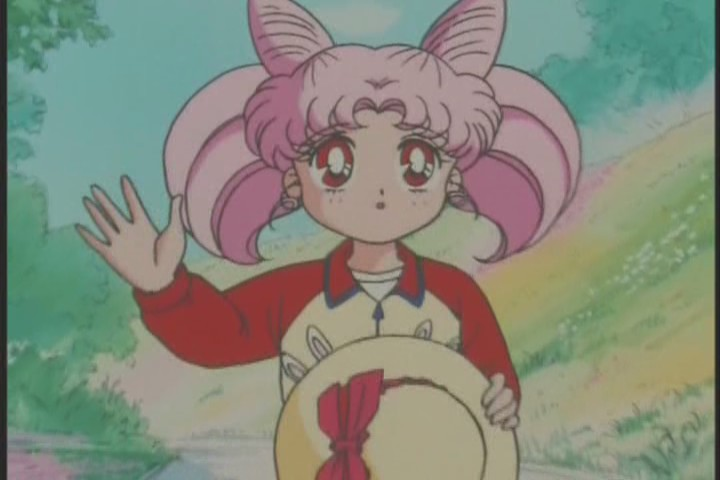 Poor Chibi-Usa doesn't have the easiest time of it does she? Her best friend is now a goddamn baby