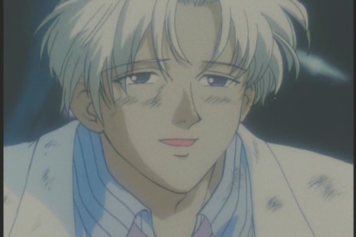 Wow... he cleans up nice. Goddamn, Tomoe, you're totally bish