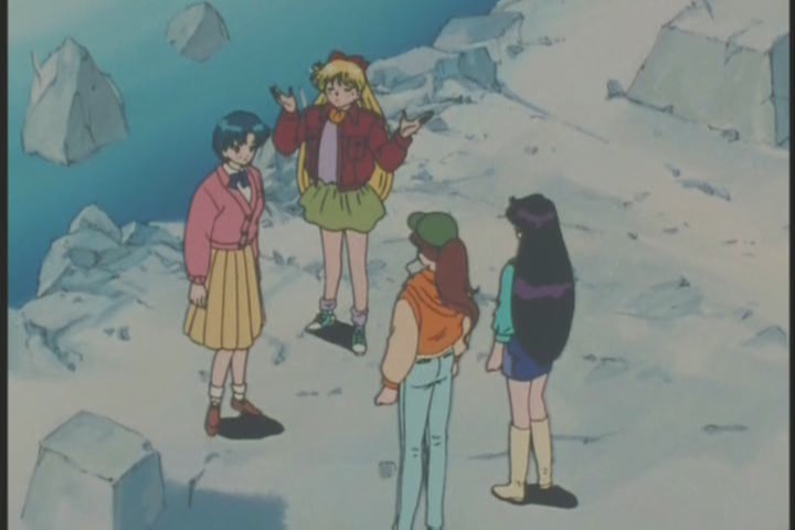 The good thing about a new series of Sailor Moon is looking forward to the central characters interacting normally again