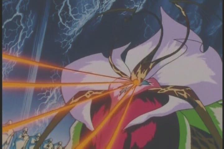 Sailor Uranus uses World Shaking! Super effective!