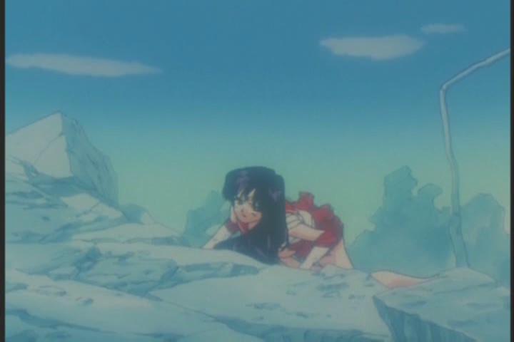 Sailor Mars injured