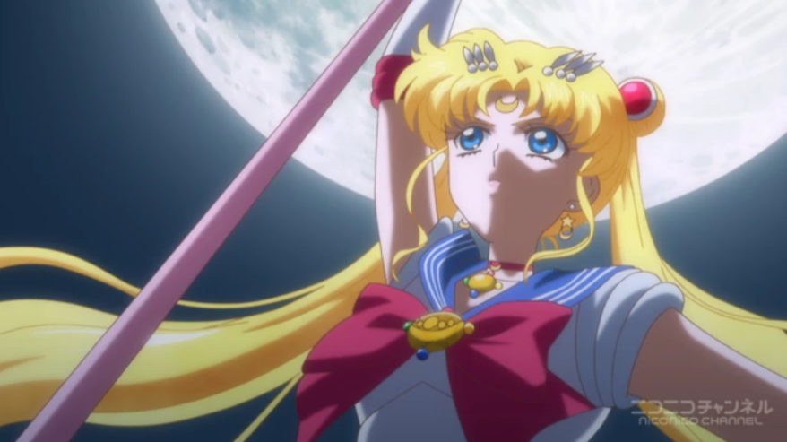 """Everyone out. Sailor Moon Crystal is now closed. You don't have to go home, but you can't stay here."""
