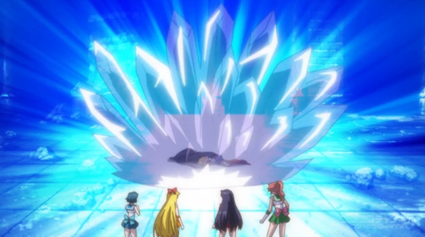 Randomness, thy name is Sailor Moon Crystal