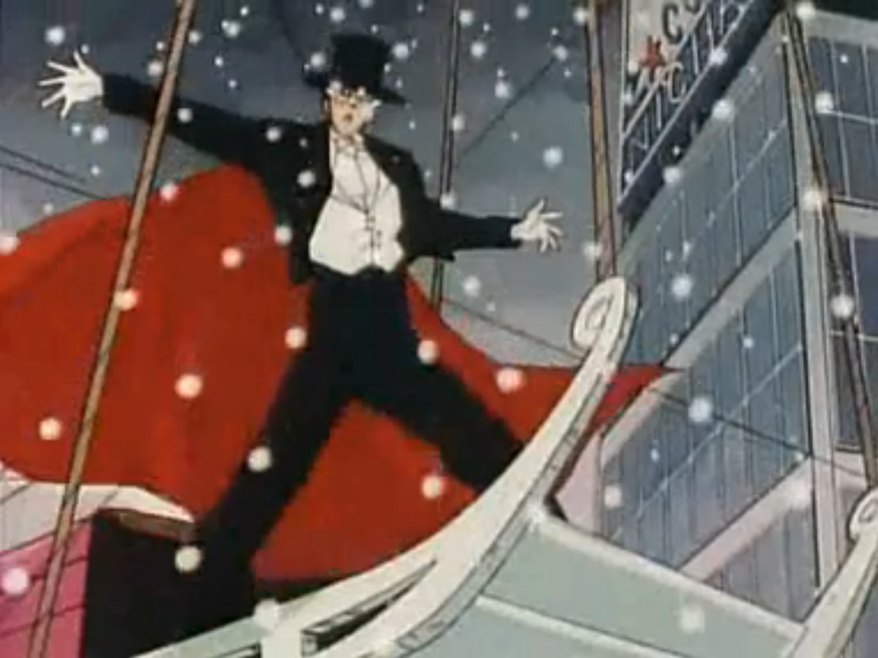 Ohhhhh so THAT'S why all my presents were roses and small puppets of Tuxedo Kamen.