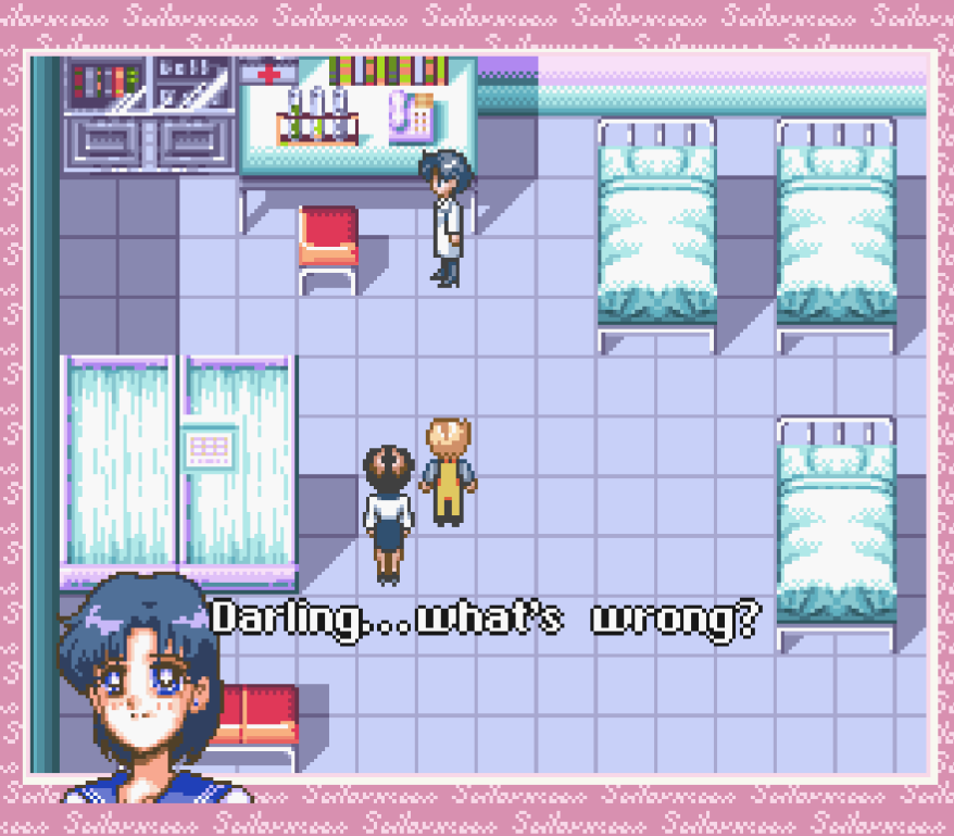 Come on, Ami, this is your dream. You can do anything. Fly to Mars or something. No? Just gonna heal and stuff? Sigh...