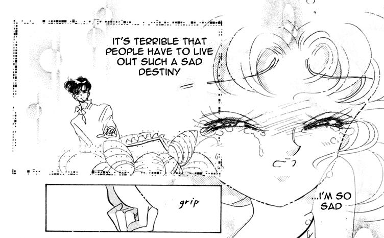 Infinity - Chibi-Usa upset over Hotaru's death