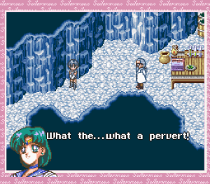 Sailor Moon Another Story - Mercury calls Scwartz a pervert