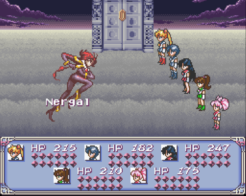 Sailor Moon Another Story - Nergal Battle