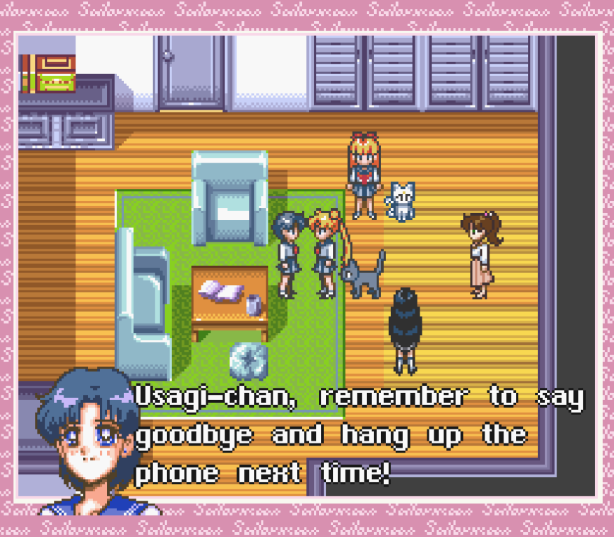 It may be a mission but Ami never takes the chance to miss being a dick to Usagi