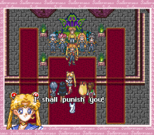 Sailor Moon Another Story - I will punish you