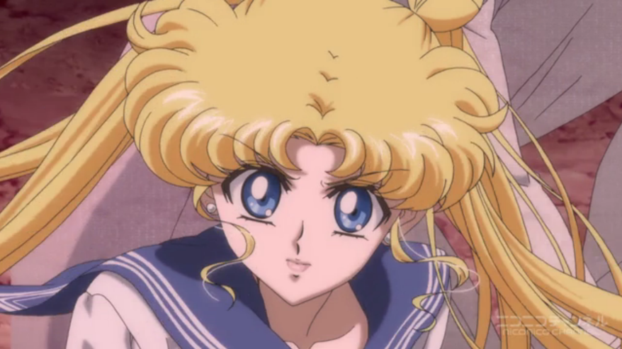 Sailor Moon Crystal - Usgai pissed off