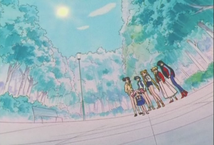 Senshi in the park