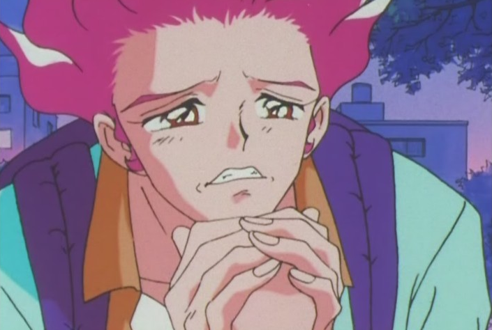 """""""YOU LOOK LIKE MY MOMMY PLEASE HAVE SEX WITH ME"""" - pretty much this scene. Thanks for the nightmares, Sailor Moon"""