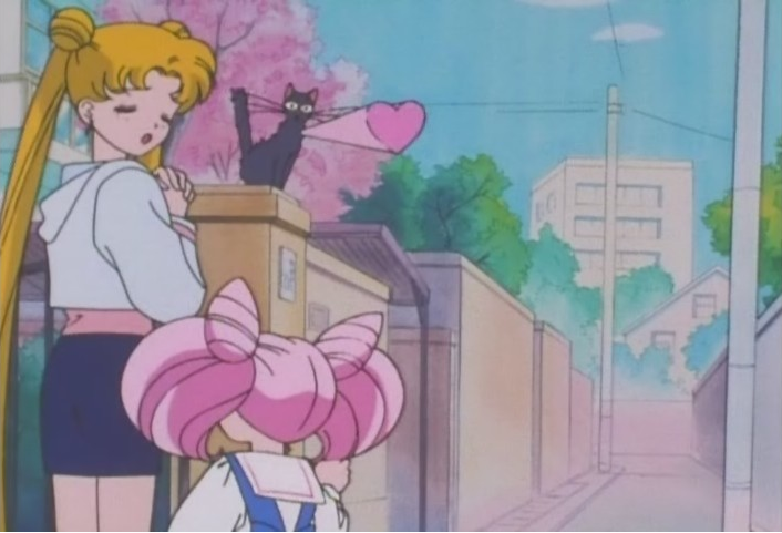 I like Usagi and Chibi-Usa bickering, but I love it more when they team up against Luna