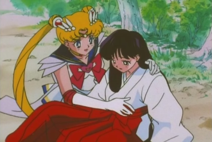 And Super Sailor Moon cops a feel for the road too