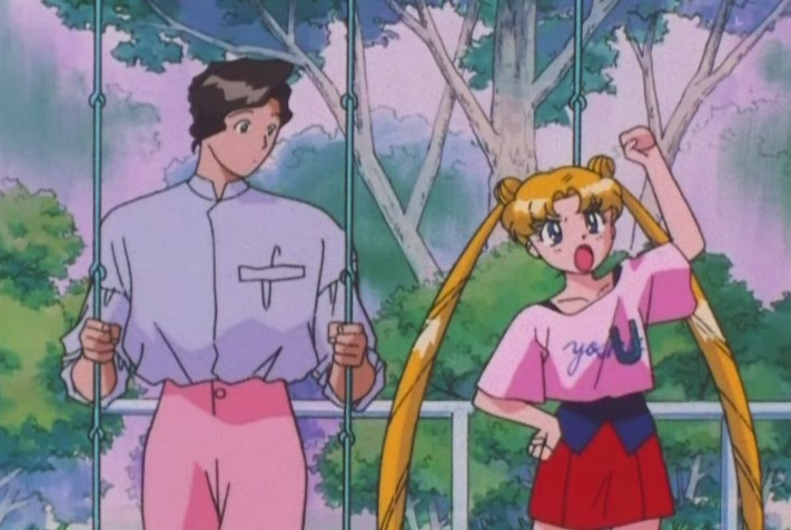 One of the funniest and sweetest moments for Usagi in this season, while staying true to her cheeky mercenary character