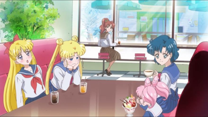 Sailor Moon Crystal - Crown Parlour