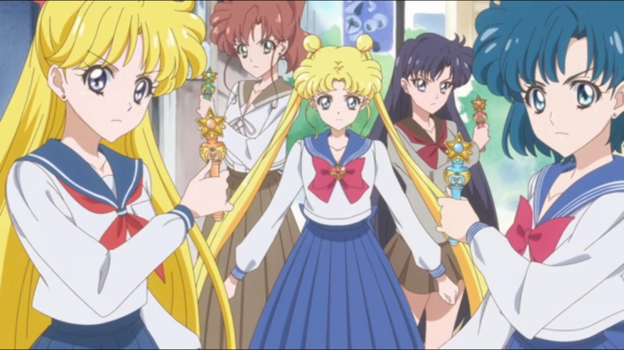 Sailor Moon Crystal Season III - Senshi